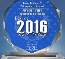 Germ Champs & Pathogenx Healthcare Receives 2016 Best